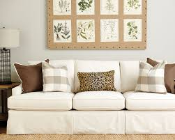 Brown And Yellow Living Room by Guide To Choosing Throw Pillows How To Decorate