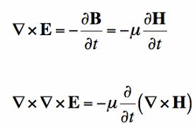 Maxwell     s Equations  The Wave Equation Maxwell s Equations curl of farday     s law