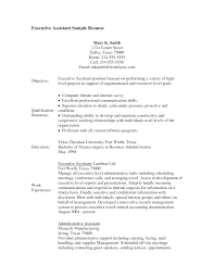 Executive Assistant Job Resume by Sample Resume For Administrative Assistant Job Resume For Your