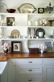 Shelf Kitchen Cabinet Open Shelving Is Kitchen This Is Beautiful And Gives Me An Idea