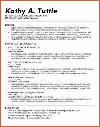 Basic Resume Template For High School Students   http   www jobresume