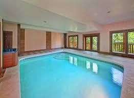 In Door Pool by Gatlinburg Cabins With Indoor Pools For Rent Elk Springs Resort