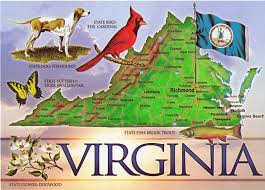 Map For United States by Virginia State Map Old Town Portsmouth Pinterest Virginia