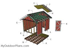 Diy 10x12 Shed Plans Free by 10x12 Shed Plans Myoutdoorplans Free Woodworking Plans And