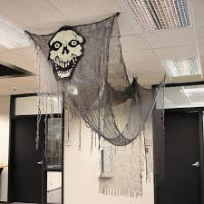 Scary Halloween House Decorations Transform Your Home Or Office Into A Haunted House With This Huge