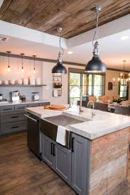 Images Of Kitchen Interiors by Best 25 Rustic Modern Ideas On Pinterest Country Style Homes
