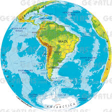 Physical Map Of South America by Atlas Of South America Read Fiction Non Fiction And Textbooks