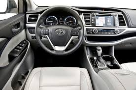 toyota ltd 2015 toyota highlander xle interior photography 14433 toyota