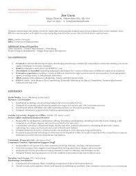 Resume Sample For Long Term Employment by Entrepreneur Resume And Cover Letter What To Include