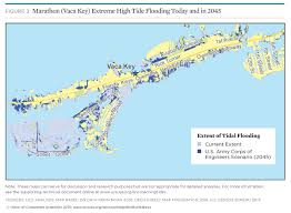 Map Florida Gulf Coast by Tidal Flooding And Sea Level Rise In The Florida Keys 2015
