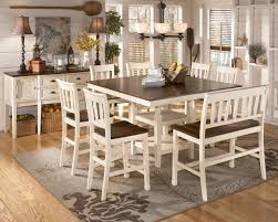 Dining Tables   Piece Dining Set Ashley Furniture  Piece Round - Ashley furniture dining table with bench