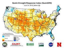 Drought Map Usa by Drought Center For Advanced Land Management Information