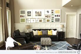 How To Decorate A Living Room Wall Stagger Modern Decor - Wall decor for living room