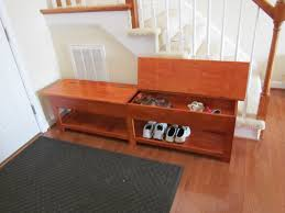 Shoe Storage Furniture by Furniture Wooden Bench With Storage For Home Furniture Seating