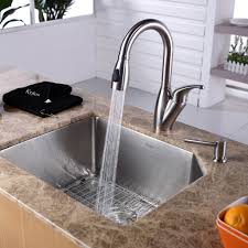 Kitchen Sink With Faucet Set Show Me Your Faucet Set Up With Undermount Sinks Throughout