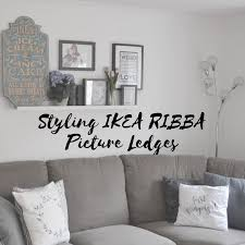 styling ikea ribba picture ledges u2013 eliza rose limited