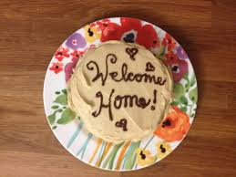 the baking yogi a welcome home cake