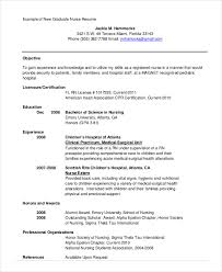 Nursing Student Sample Resume by Cv Template For Nursing Students