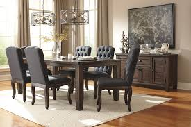 Round Dining Table Sets For 6 Signature Design By Ashley Trudell 5 Piece Round Dining Table Set