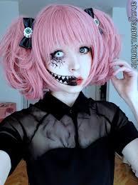 anzujaamu creepy cute makeup for halloween makeup pinterest