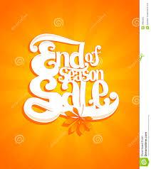 thanksgiving day sale end of autumn season sale typographic illustration stock photos