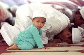bambino musulmano
