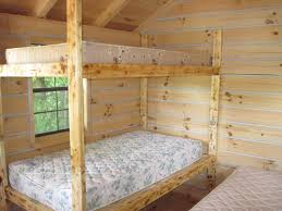 Cheap Hunting Cabin Ideas Diy Bunk Bed Plans Home Design Ideas