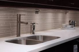 Commercial Kitchen Backsplash by Random Subway Linear Glass Tile Perfect For A Kitchen Backsplash