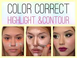 xtreme color correct highlight u0026 contour youtube