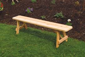 Basic Wood Bench Plans by Bench Wonderful Red Cedar Traditional Backless From Dutchcrafters