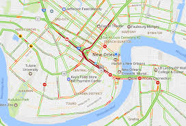 New Orleans Downtown Map by Traffic In New Orleans Snarled As Police Respond To Suicidal Man