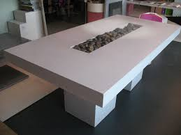 Concrete Dining Room Table Extendable Dining Table By Afdal For Bruksbo Sale At Pamono Idolza