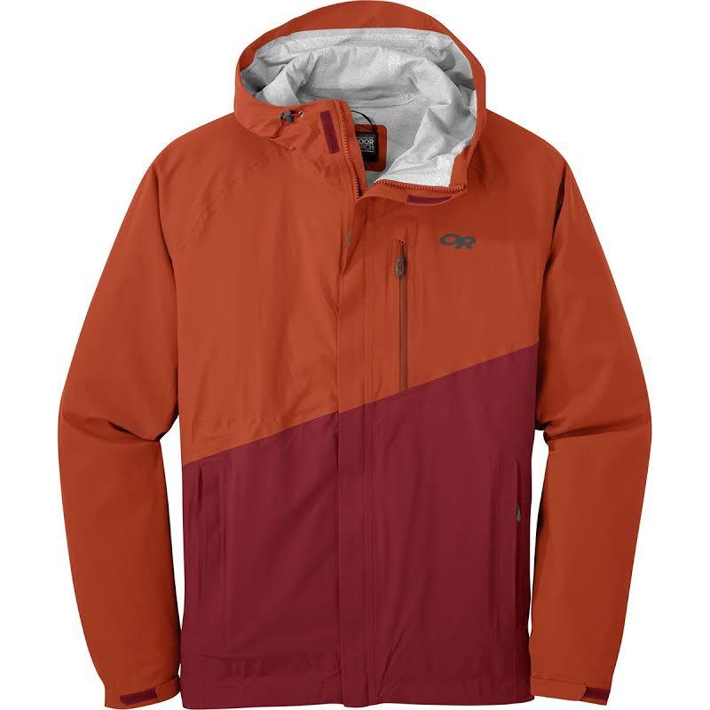 Outdoor Research Panorama Point Jacket Burnt Orange/Firebrick Medium 264420-1355007