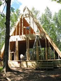 Tiny Cabin Our A Frame Cabin Dom Pinterest Cabin House And Tiny Houses