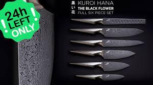 kuroi hana knife collection u2013 japanese steel by edge of belgravia