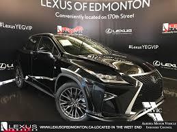 lexus canada second hand pre owned 2017 lexus rx 350 tour of alberta 4 door sport utility
