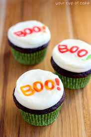 Halloween Cakes Easy by Easy Halloween Cupcake Ideas Your Cup Of Cake