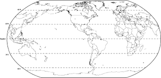 Latitude Map Diagram Free Collection Simple World Map Worksheet Best Of
