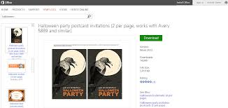 free halloween invite templates free halloween templates and printables for microsoft office