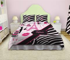 Pink Zebra Bedding Twin bedroom design gorgeous paris themed bedroom for teenage