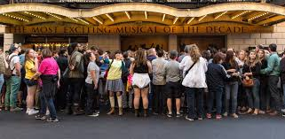 Sold Out Hamilton Musical Takes the Singing to the Street   Bloomberg