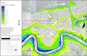 Ninth Ward New Orleans Map by New Orleans Coastal Processes Hazards And Society
