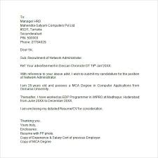 Example Of Cover Letter For Job Application  sample cover letter     happytom co