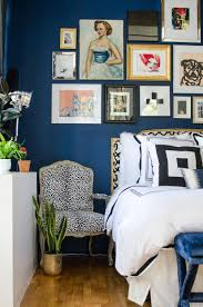 Navy Blue Wall Bedroom 30 Awe Inspiring Bedroom Design Ideas With Gallery Wall Rilane