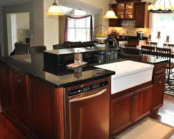 Kitchen Island Electrical Outlet Kitchen Island Table On Wheels Natural Wood Cart With Doors