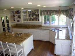 How To Measure Kitchen Cabinet Doors Granite Countertop Kitchen Food Pantry Cabinet Granite As A
