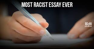 racist essay Maryland High School Student Calls For Killing Of Black People   BM Most racist