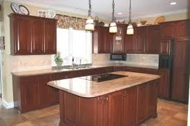 cherry wood cabinets kitchen with fresh kitchen light cherry