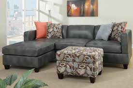 Sleeper Sofa Chaise Lounge by Light Gray Sectional Couch With Wide Chaise And Short Metal Legs