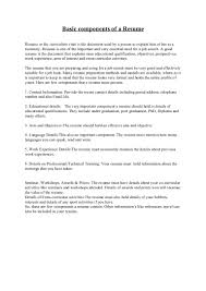 How To Do An Resume A Resume Resume For Your Job Application